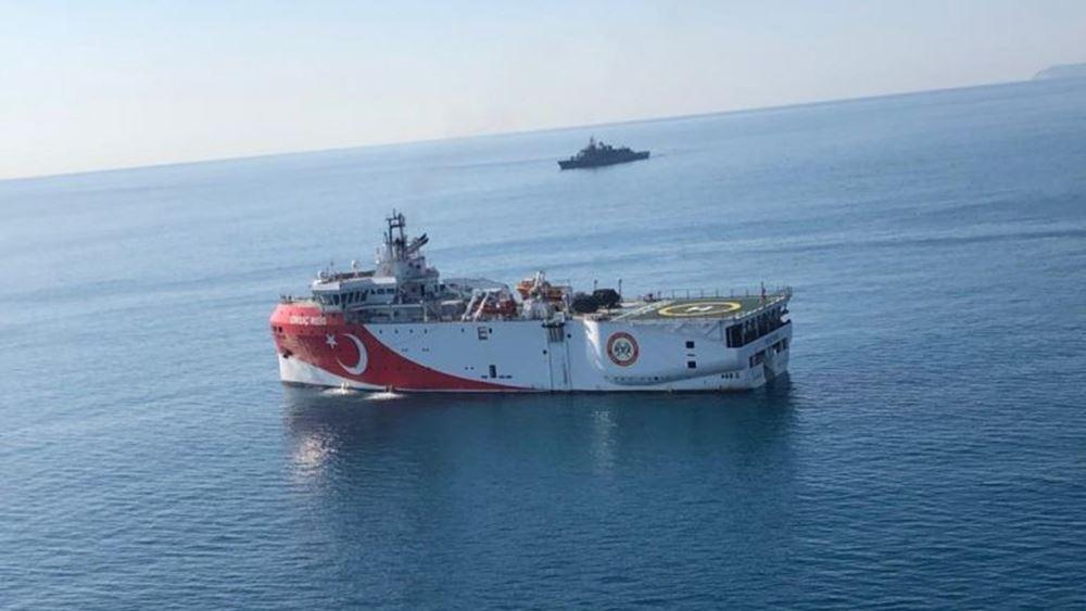 """Με νέα NAVTEX η Τουρκία """"ακυρώνει"""" τις NAVTEX Ελλάδας και Κύπρου"""