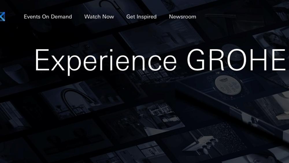 Εγκαινιάστηκε η GROHE X, η πρώτη ψηφιακή πλατφόρμα εμπειριών στον χώρο των ειδών υγιεινής