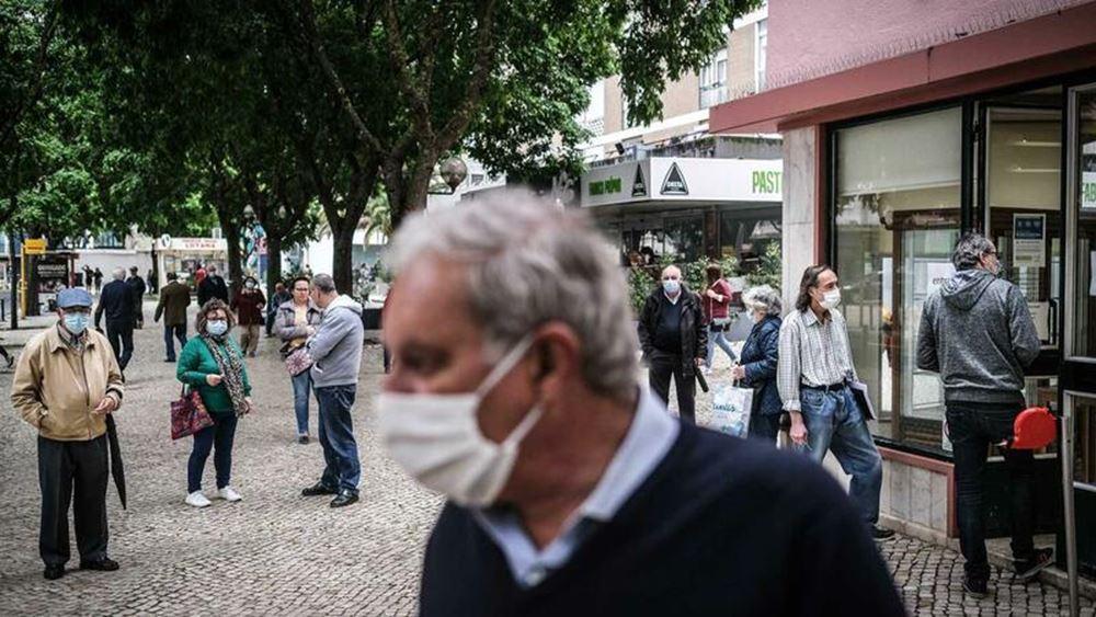 Πορτογαλία: Άνω των 100.000 τα κρούσματα κορονοϊού