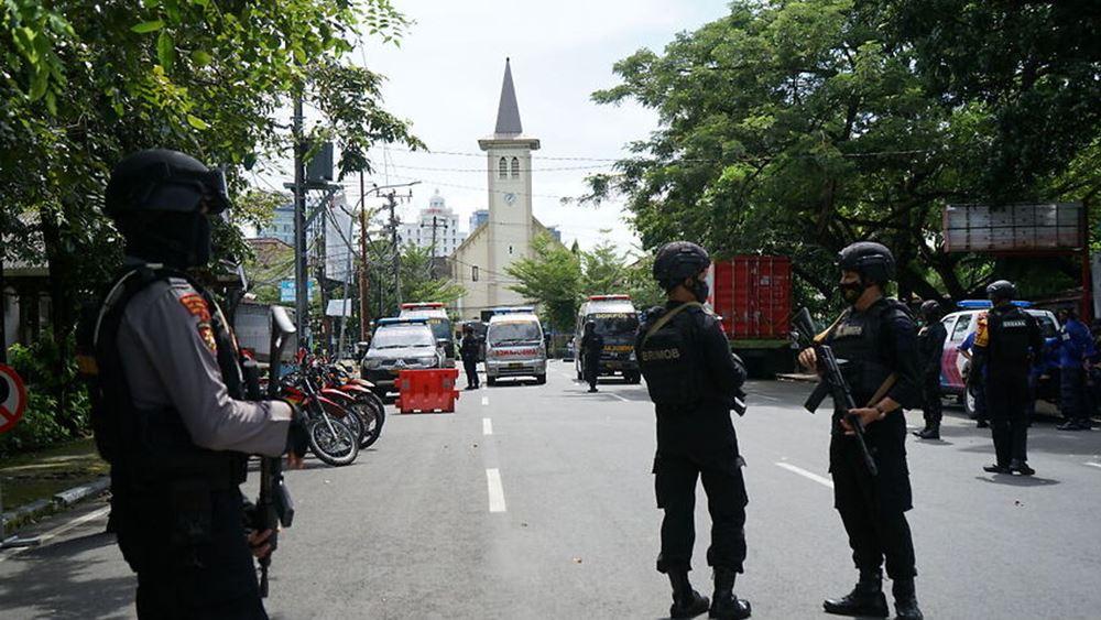 Ινδονησία: Ο ένας από τους δράστες της επίθεσης αυτοκτονίας σε εκκλησία ήταν μέλος οργάνωσης εμπλεκομένης σε ένοπλη επίθεση το 2018