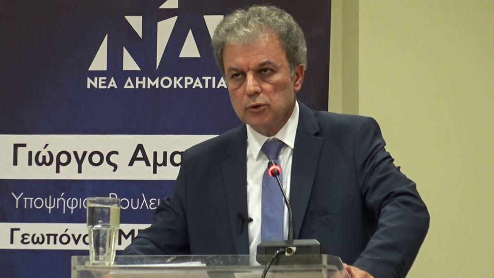 Γ. Αμανατίδης: Δεν μπορεί κανείς να αμφισβητήσει ότι υπάρχει τεράστιο πρόβλημα στη ΔΕΗ