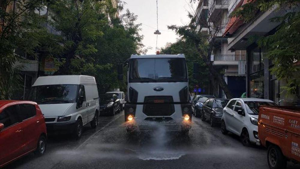 Δήμος Αθηναίων: Κυριακή καθαριότητας και απολύμανσης στην Κυψέλη