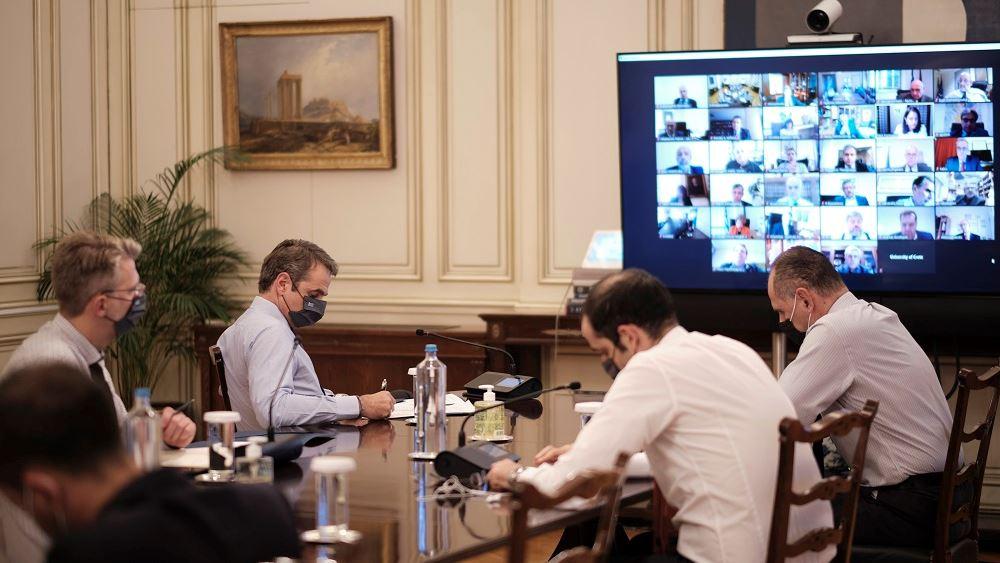 Την ίδρυση σώματος προστασίας πανεπιστημιακών ιδρυμάτων ανακοίνωσε ο Κ. Μητσοτάκης