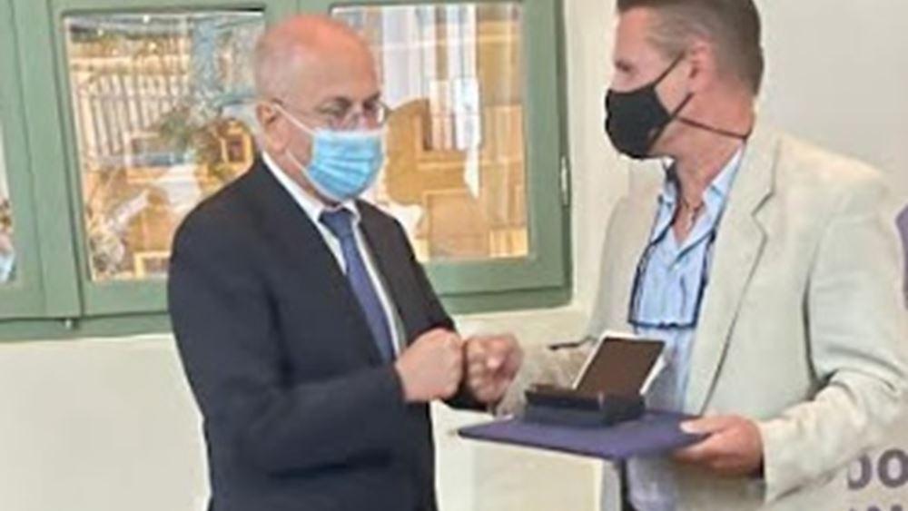 """Πρεσβεία Ισραήλ: Έλληνες ήρωες τιμήθηκαν ως """"Δικαίοι των Εθνών"""" στην Κομοτηνή"""