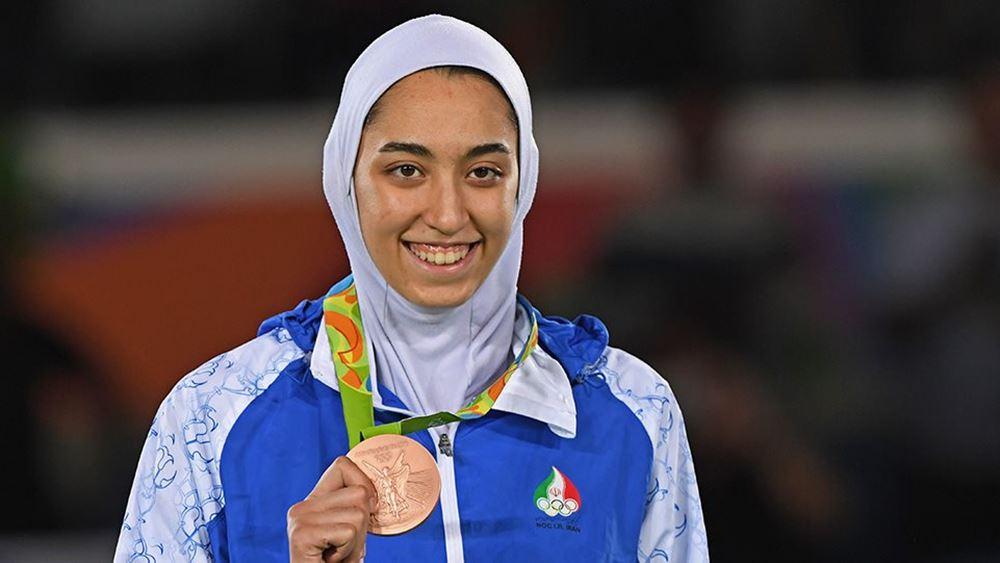 Ιράν: Η μόνη γυναίκα Ολυμπιονίκης φεύγει για πάντα από τη χώρα
