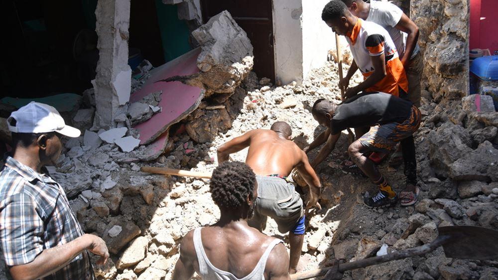 Αϊτή: Στους 724 νεκρούς ανήλθε ο τραγικός απολογισμός του σεισμού