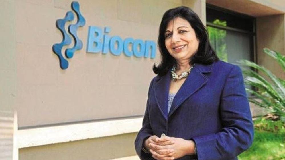 Στην Ινδή Kiran Mazumbard-Shaw η διάκριση ΕΥ World Entrepreneur of The Year 2020