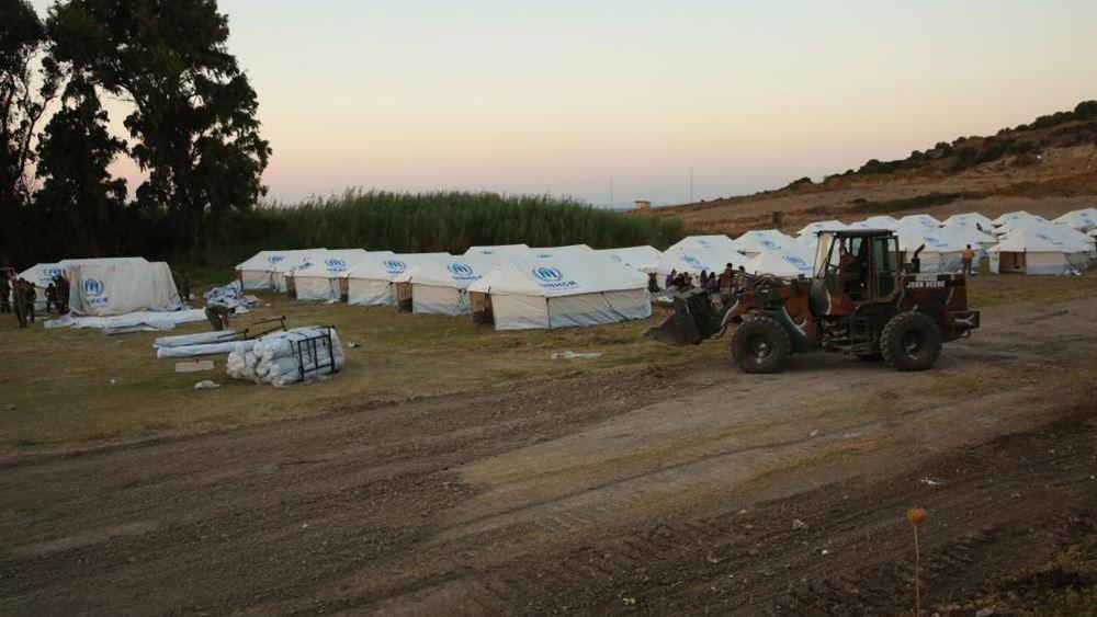 Μυτιλήνη: Συνολικά 1200 μετανάστες και πρόσφυγες έχουν εισέλθει στον προσωρινό καταυλισμό του Καρά Τεπέ