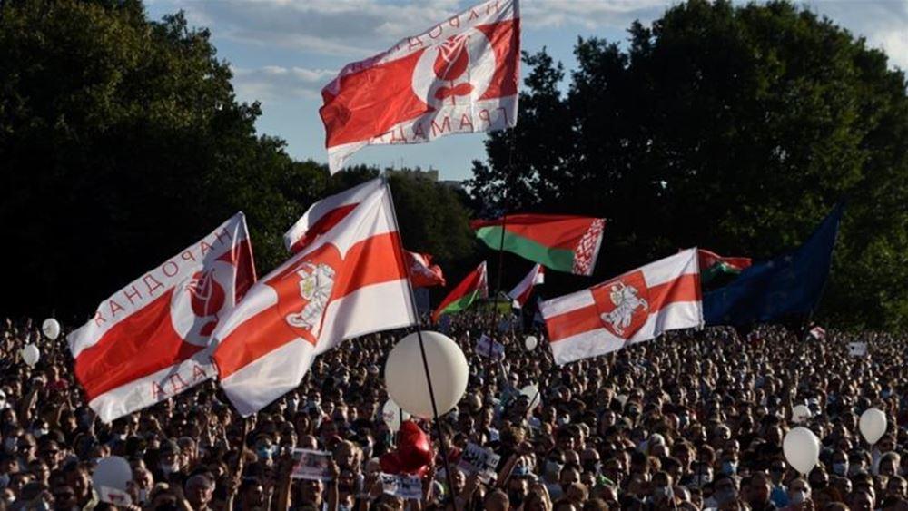 """Λευκορωσία: """"Δικτάτορα"""" αποκαλεί τον πρόεδρο Αλεξάντερ Λουκασένκο ο αντικαγκελάριος της Γερμανίας Όλαφ Σολτς"""