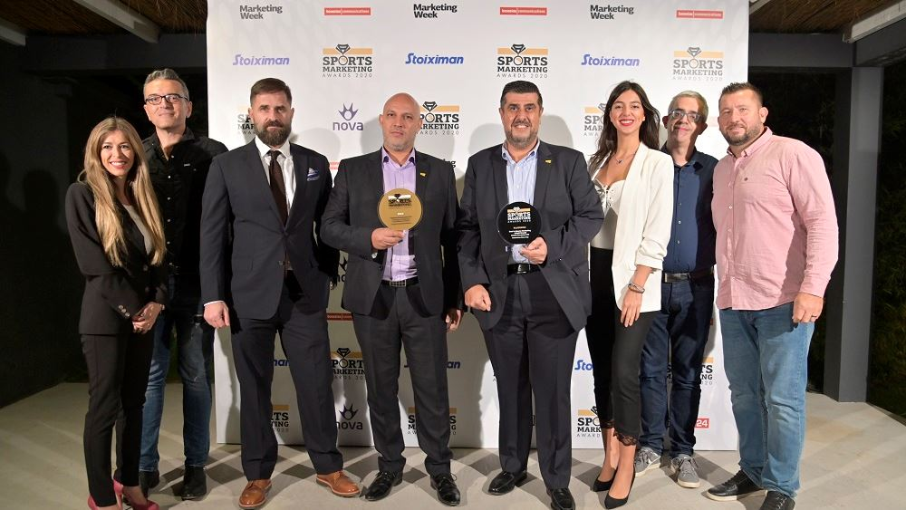 Platinum και Gold βραβεία στα Sports Marketing Awards για την Bricktin Enterprises Ltd!