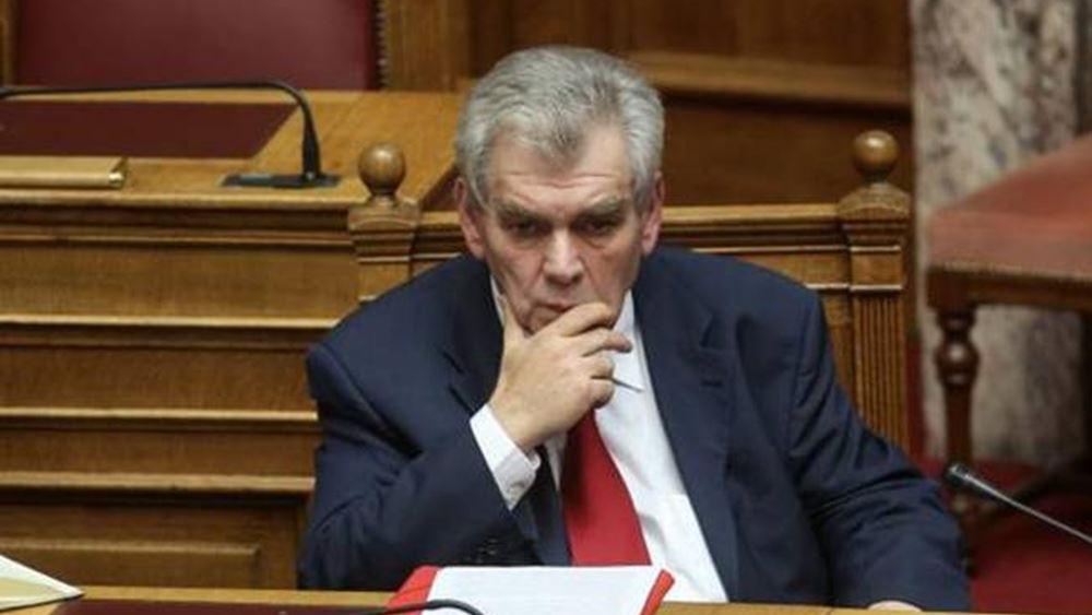 Βουλή: Τα αιτήματα του Δ. Παπαγγελόπουλου στην Προανακριτική παρέδωσε ο Δ. Τσοβόλας