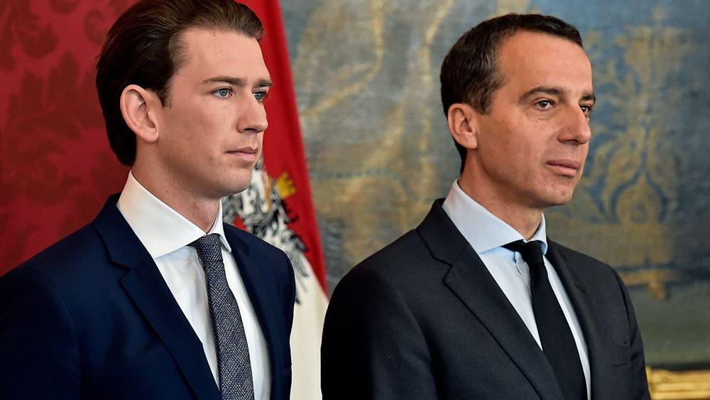 Αυστρία: Να παραιτηθεί συνιστά στον καγκελάριο Σεμπάστιαν Κουρτς ο προκάτοχός του