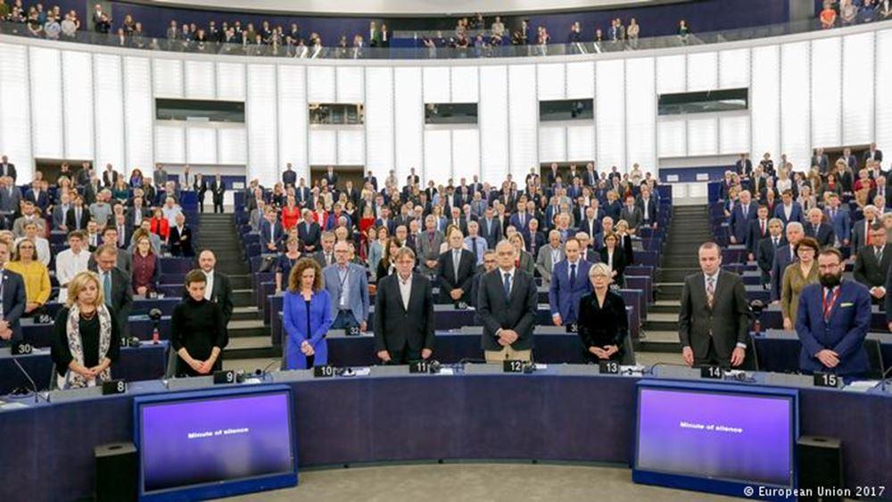 DW: Ευρωπαϊκός φόρος τιμής στη δολοφονημένη δημοσιογράφο