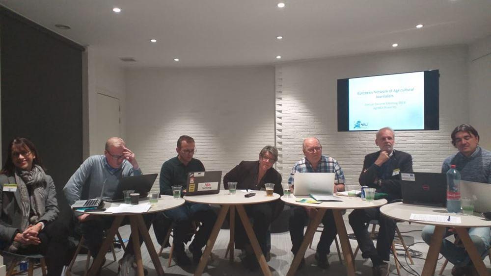 Μέλος του ευρωπαϊκού δικτύου δημοσιογράφων για τη γεωργία η Ένωση Ελλήνων δημοσιογράφων για γεωργία και τρόφιμα