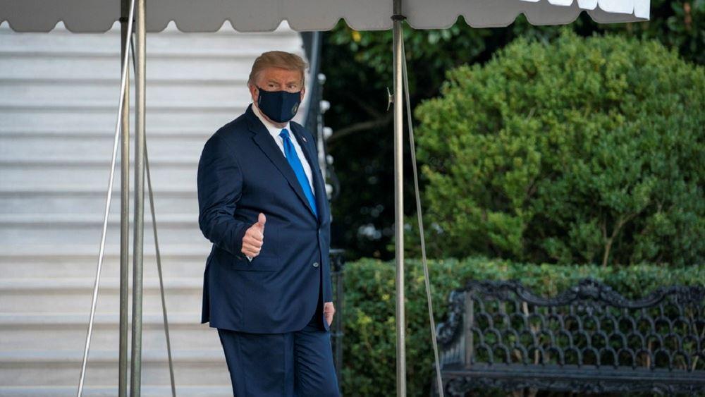 ΗΠΑ: Ο Τραμπ μεταφέρθηκε προληπτικά στο στρατιωτικό νοσοκομείο Walter Reed