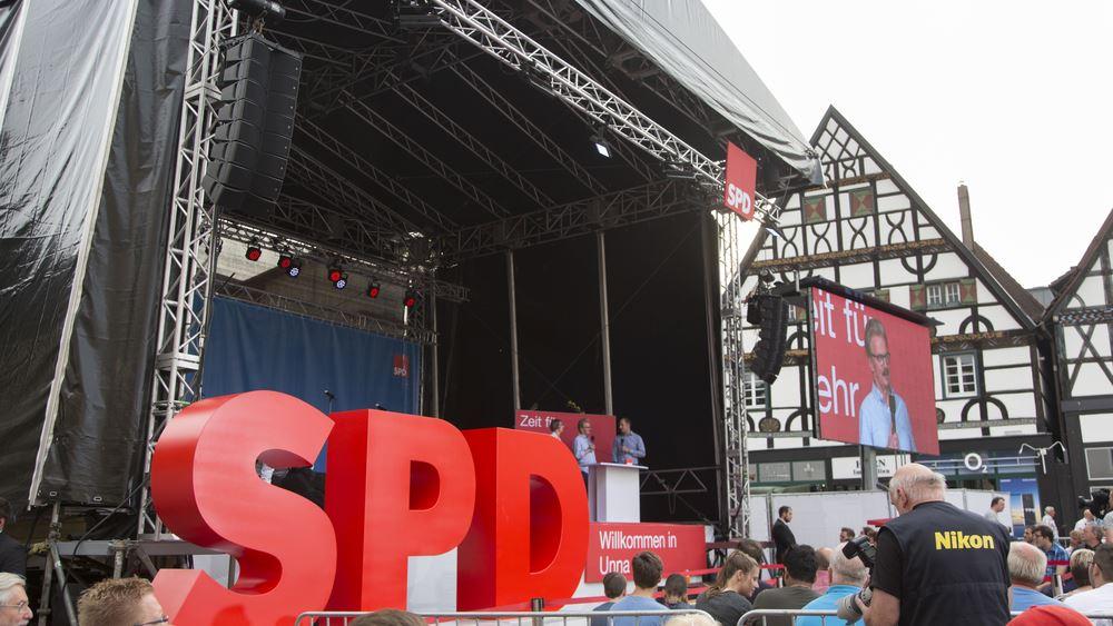 Για Μεγάλο Συνασπισμό και ηγεσία αποφασίζει το SPD