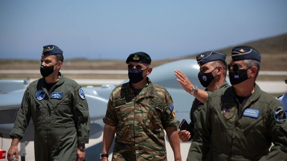 Επίσκεψη αρχηγού ΓΕΕΘΑ στην 135η Σμηναρχία Μάχης στη Σκύρο