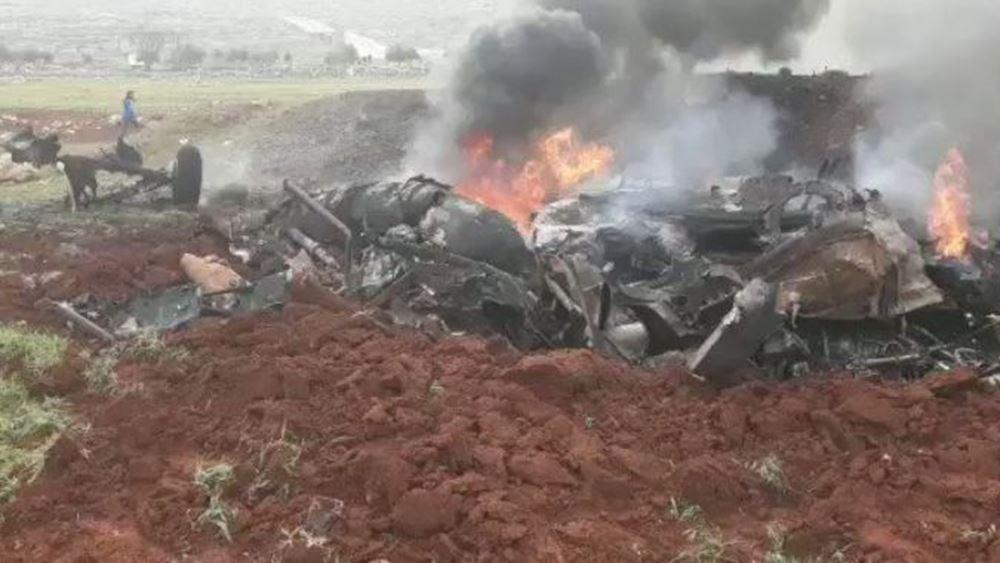 Συρία: Νέα κατάρριψη ελικοπτέρου των δυνάμεων Άσαντ από τους αντάρτες - Νεκροί οι χειριστές