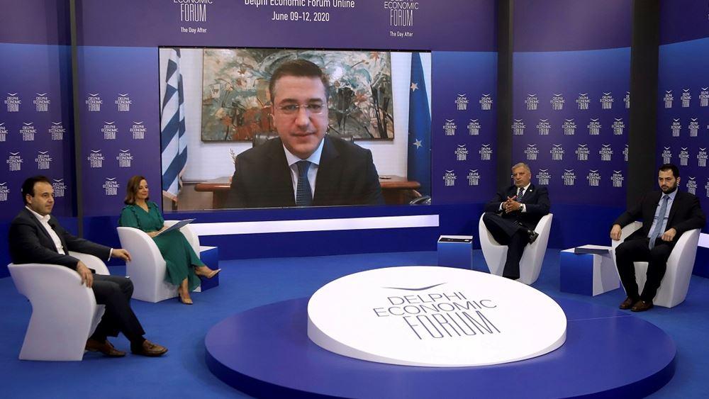 Απ. Τζιτζικώστας στο Delphi Economic Forum: Η πανδημία μάς πήγε πίσω, όμως δεν μας σταμάτησε