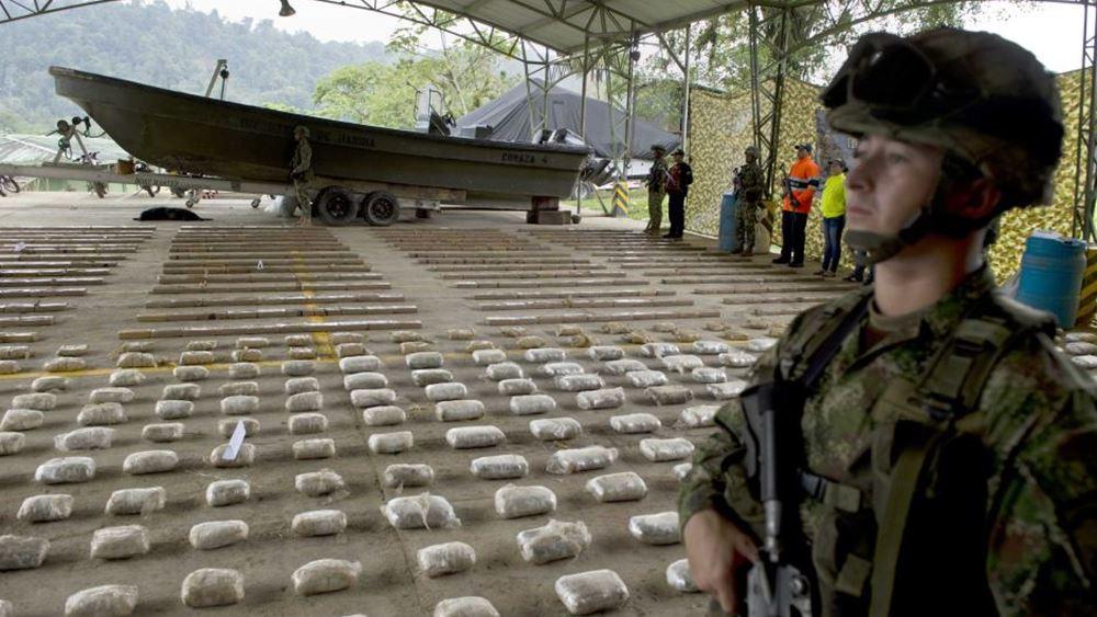Αφίξεις ρεκόρ σε φορτία κοκαΐνης στην Ευρώπη μέσα στον Μάιο του 2019
