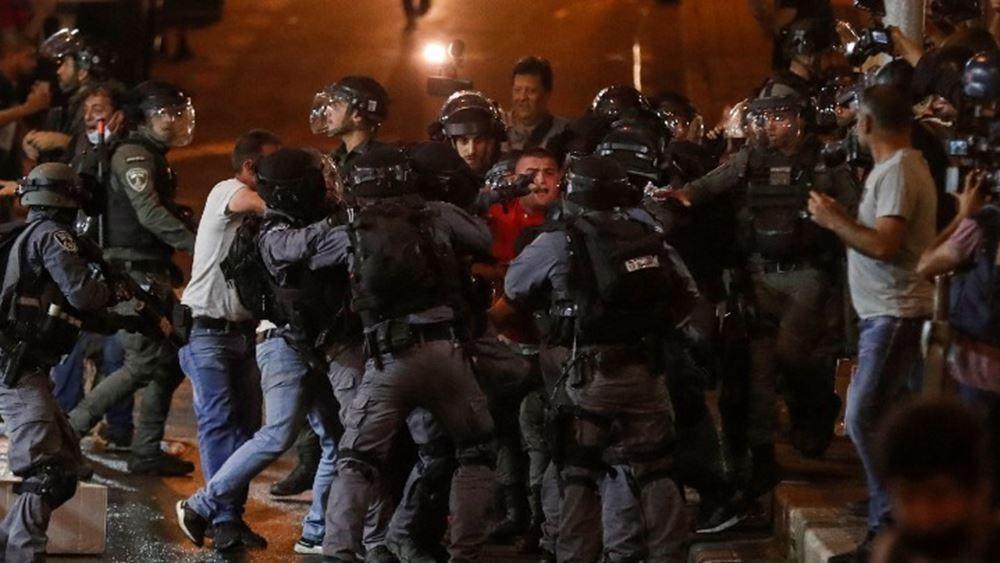 Νέες συγκρούσεις μεταξύ Παλαιστινίων και ισραηλινής αστυνομίας στην Ιερουσαλήμ