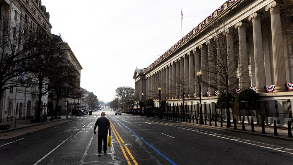 ΗΠΑ: Σημαντικά μειωμένο, στα 132 δισ. δολ., το έλλειμμα του προϋπολογισμού τον Μάιο