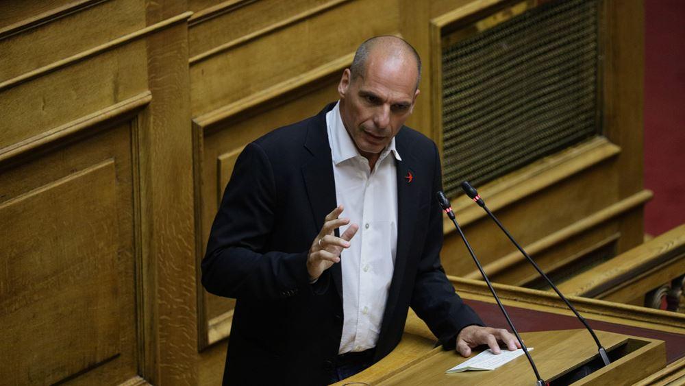 """Γ. Βαρουφάκης: """"Όχι"""" σε αντικυβερνητικό μέτωπο ΜέΡΑ25 - ΣΥΡΙΖΑ"""