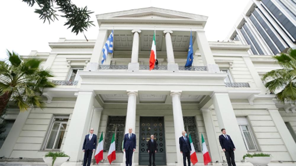Συναντίληψη Ελλάδας και Ιταλίας για τον αποσταθεροποιητικό ρόλο της Τουρκίας