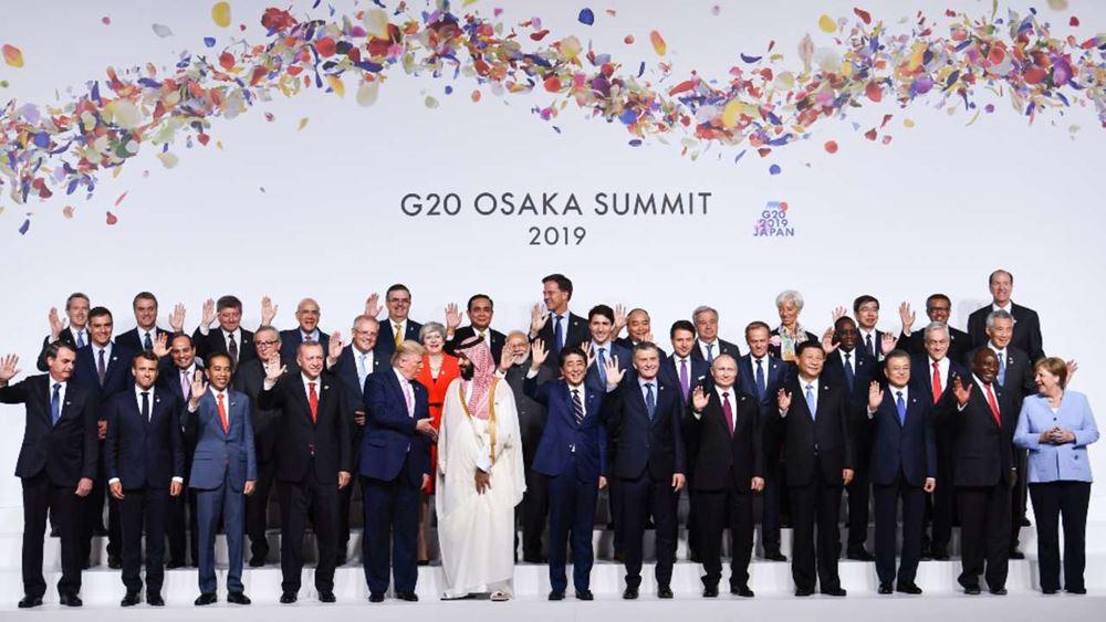 G20: Όλοι πλην ΗΠΑ υπέρ της εφαρμογής της συμφωνίας του Παρισιού