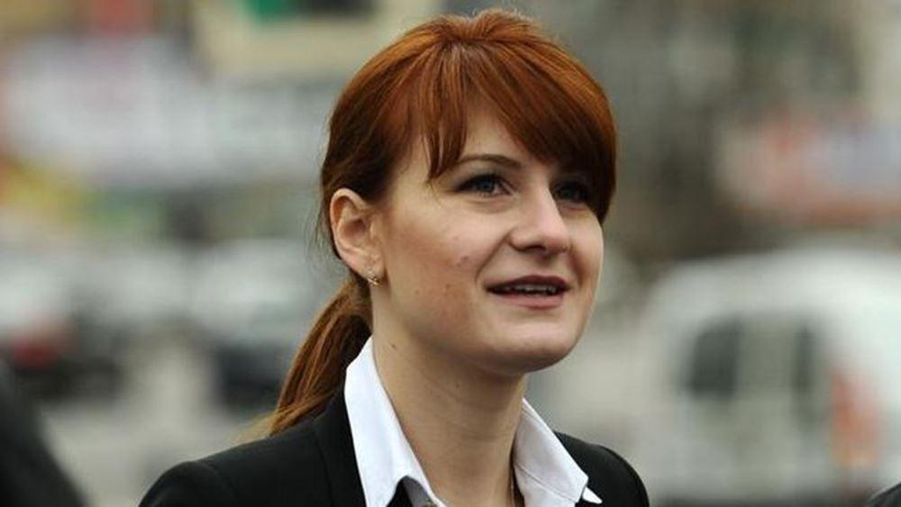 Η Ρωσίδα Μ. Μπούτινα, καταδικασμένη ως πράκτορας στις ΗΠΑ, γίνεται παρουσιάστρια του Russia Today
