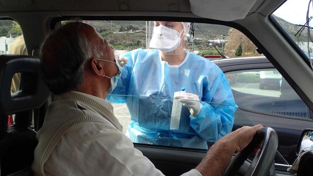 Σε 3.685 rapid test εντοπίστηκαν 42 κρούσματα από τις ΚΟΜΥ του ΕΟΔΥ