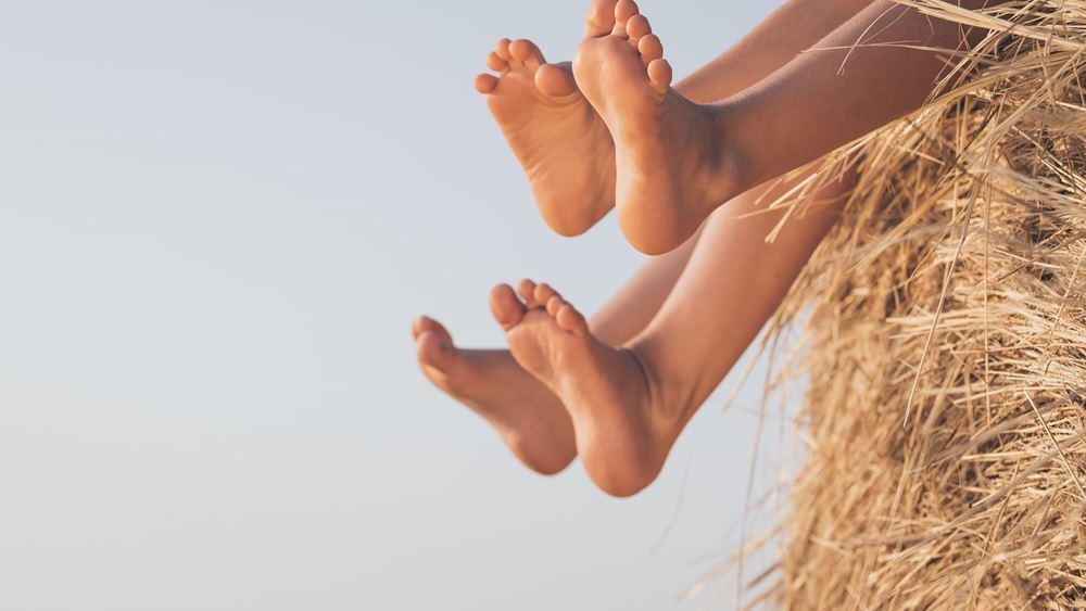 8  πληροφορίες για τα πόδια των παιδιών και πώς θα παραμείνουν υγιή