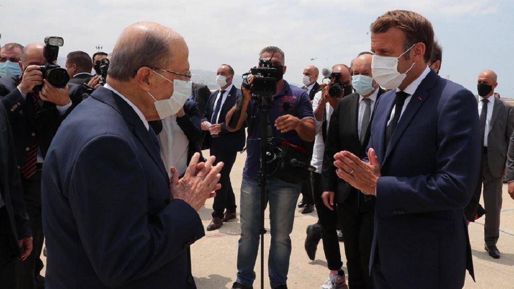 Λίβανος: Οργισμένοι πολίτες ζητούν τη βοήθεια της Γαλλίας για την εκδίωξη καθεστώτος