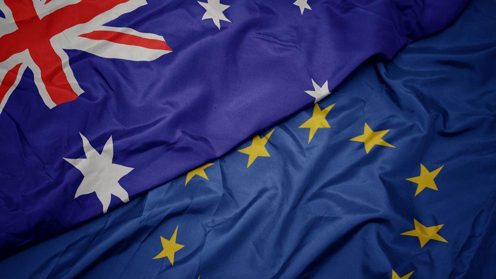 Αναβλήθηκαν οι διαπραγματεύσεις ΕΕ-Αυστραλίας για τη σύναψη συμφωνίας ελεύθερου εμπορίου