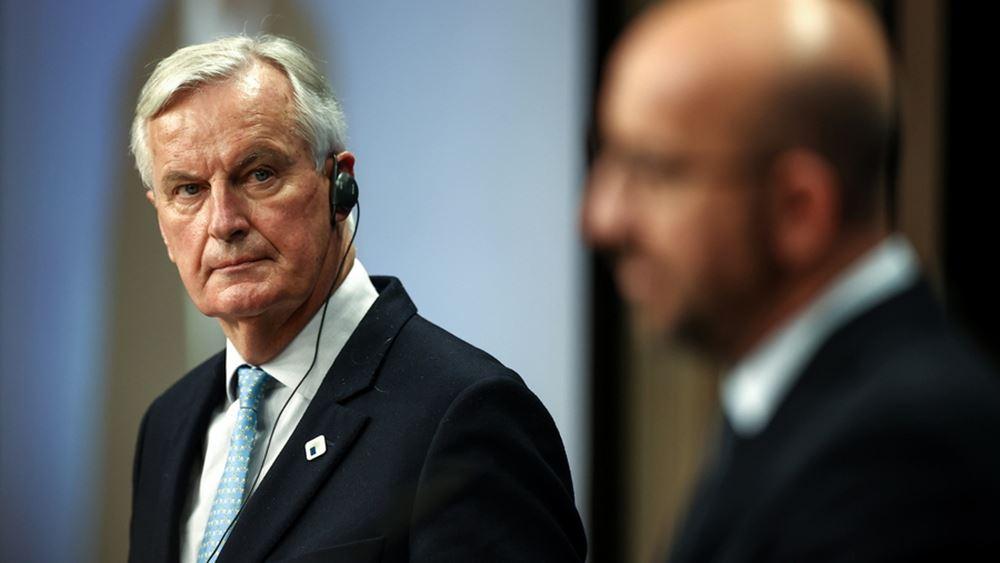 """Μπαρνιέ: """"Εφικτή"""" μια εμπορική συμφωνία με το Ηνωμένο Βασίλειο"""