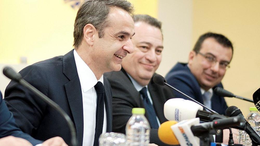 Κ. Μητσοτάκης: Στηρίζουμε την υγιή επιχειρηματικότητα