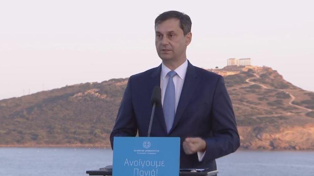 """Χάρης Θεοχάρης: """"Ανοίγουμε πανιά"""", ξεκινάει η τουριστική σεζόν"""