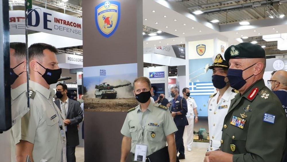 Στρατηγικές συμφωνίες μεταξύ 315 αμυντικών βιομηχανιών και 22 χωρών υπεγράφησαν στην DEFEA 2021