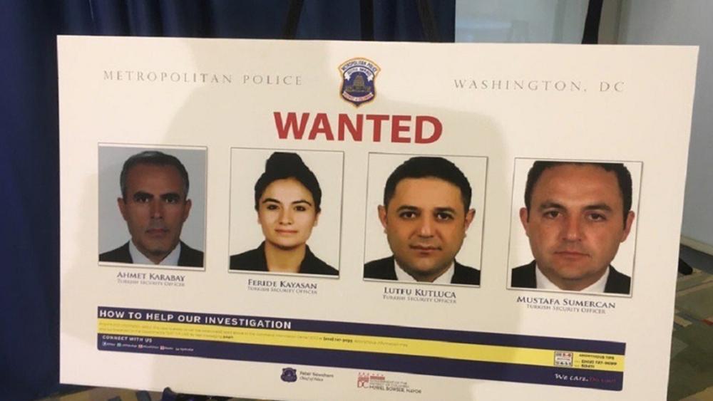"""Δικαστικό """"χαστούκι"""" από τις ΗΠΑ στην Τουρκία: Θα απαγγελθούν κατηγορίες στους άντρες του Ερντογάν"""