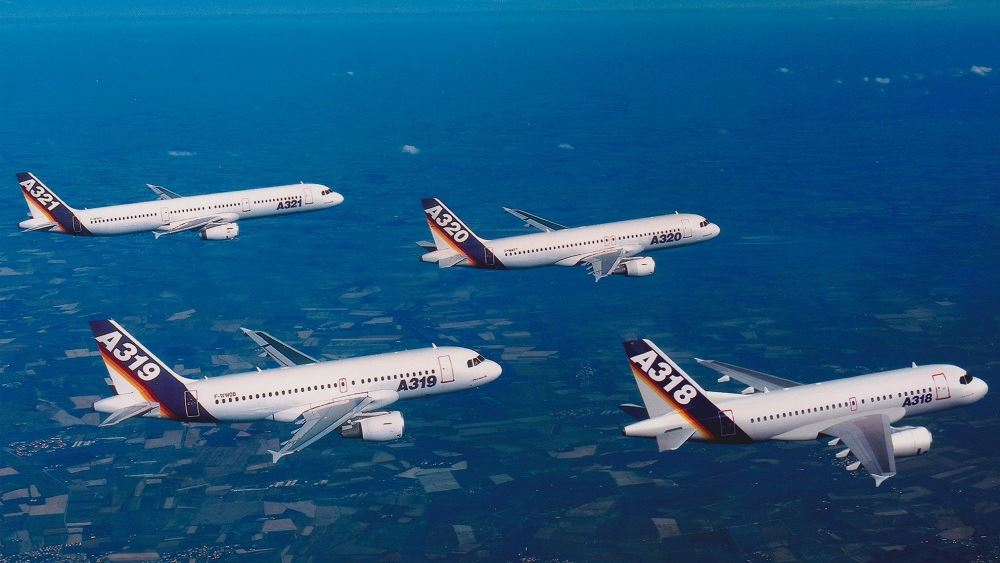 Airbus: Μείωση της παραγωγής πτερύγων αεροσκαφών για τρεις εβδομάδες
