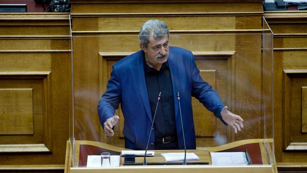"""Η ΝΔ καλεί τον Αλ. Τσίπρα """"να αποκηρύξει δημόσια τα όσα ανέφερε στη Βουλή ο Π. Πολάκης"""""""
