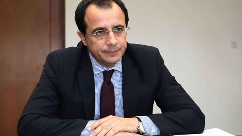 Ν. Χριστοδουλίδης: Βούληση της ελληνοκυπριακής πλευράς η επιστροφή στο τραπέζι των συνομιλιών