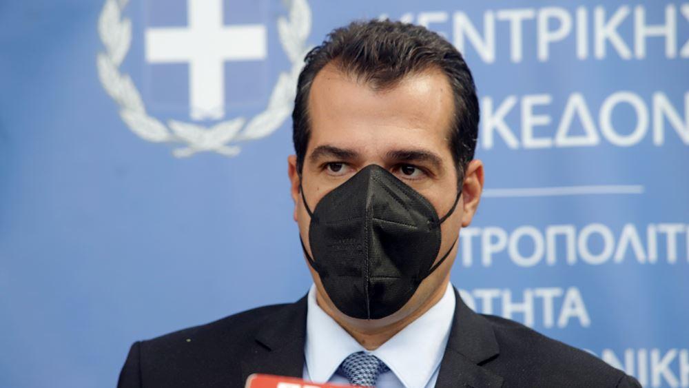 Πλεύρης από Θεσσαλονίκη: Δεν τίθεται θέμα μέτρων, αλλά θέμα πρόληψης