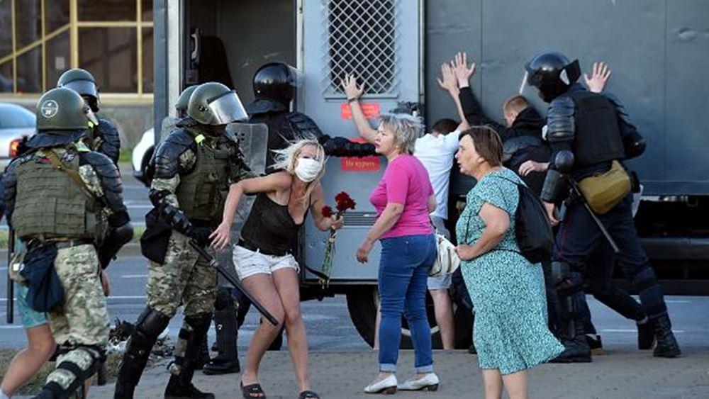 Λευκορωσία: Συλλήψεις πολιτών και δημοσιογράφων