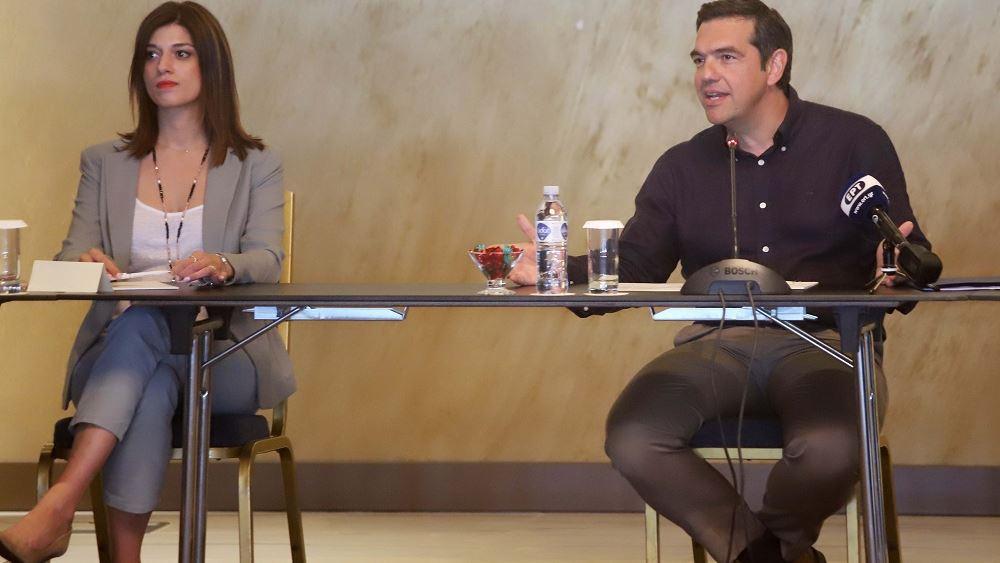 Αλ. Τσίπρας: Στην Ελλάδα η ύφεση ήρθε πριν από τον κορονοϊό