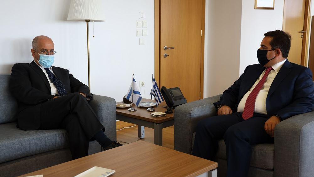 Πρέσβης του Ισραήλ Amrani Μηταράκης