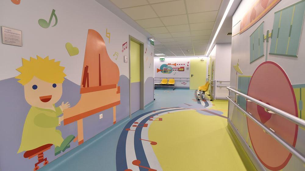 """Ο ΟΠΑΠ παρέδωσε πλήρως εκσυγχρονισμένη την Καρδιολογική Μονάδα στο παιδιατρικό νοσοκομείο """"Η Αγία Σοφία"""""""