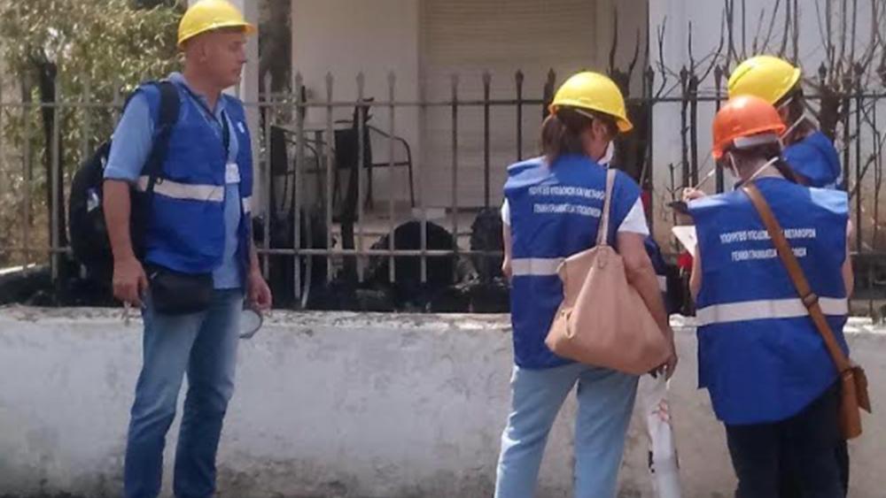 Υπουργείο Υποδομών: Ξεκίνησε η καταγραφή των ζημιών από τις πυρκαγιές