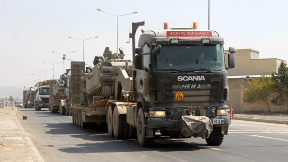 Τουρκία: Πληροφορίες για μετακίνηση αρμάτων από τη Συρία στην ελληνική μεθόριο - διαψεύδει το Anadolu