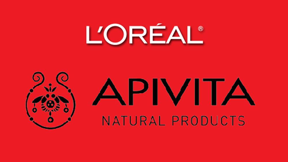 Επαφές L'oreal με Apivita